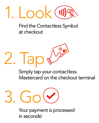 Contactless steps