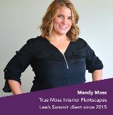 Lead Bank Client Mandy Moss of True Moss Interior Plantscapes from the Lee